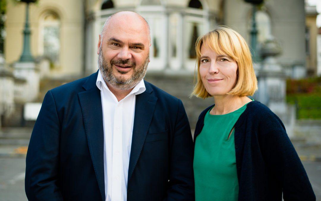 Christos Doulkeridis et Audrey Lhoest ouvrent une liste citoyenne Ixelles XXL